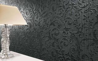 FM Damasco Black Matt Mosaico 60x60