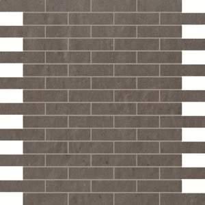 Creta Fango Brick Mosaico 30.5x30.5