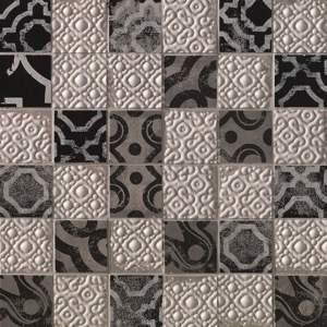 Creta Maiolica Grey Mosaico 30.5x30.5