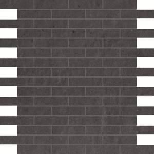 Creta Notturno Brick Mosaico 30.5x30.5