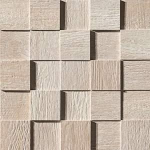 Docks 3D Neutro Mosaico 30.5x30.5