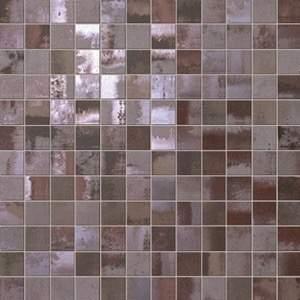 Evoque Acciaio Copper Mosaico 30.5x30.5