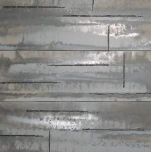 Evoque Acciaio Silver Inserto Mix3 91.5x91.5