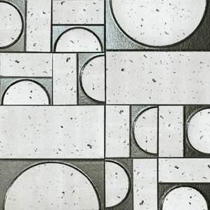 Evoque Sigillo Argento Inserto Mosaico 30.5x30.5