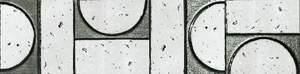 Evoque Sigillo Argento Listello Mosaico 7.5x30.5
