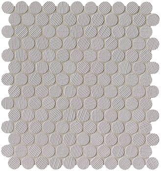 Milano Wall Grigio Round Mosaico 29,5x32,5