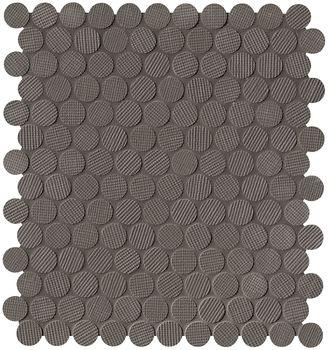 Milano Wall Moka Round Mosaico 29,5x32,5