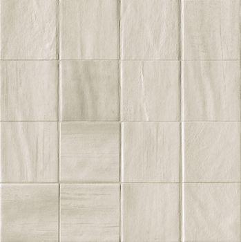 Brickell White Macromosaico Matt 30x30
