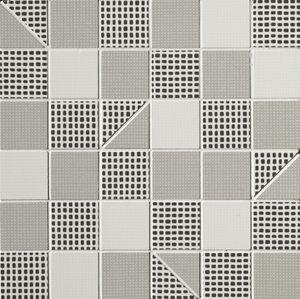 Pat Grey Slash Mosaico