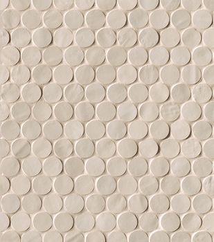 Brooklyn Sand Round Mosaico 29.5x32.5