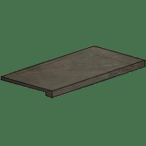 Docks Cenere Scalino Angolare DX 25x150