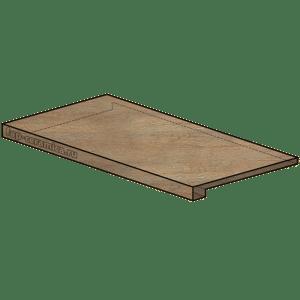 Docks Naturale Scalino Angolare SX 25x150
