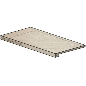 Docks Neutro Scalino Angolare SX 25x150