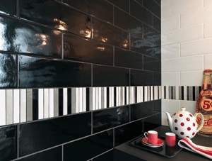 Manhattan White 10x30, Manhattan Black 10x30, Manhattan Tratti Grigi Mosaico 30x30