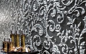 FM Damasco Black White Mosaico 60x60