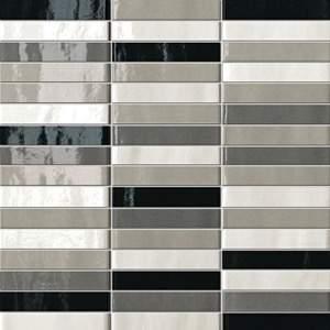 Manhattan Tratti Grigi Mosaico 30x30