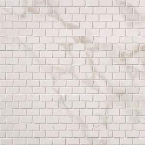 Roma Brick Calacatta Mosaico 30X30