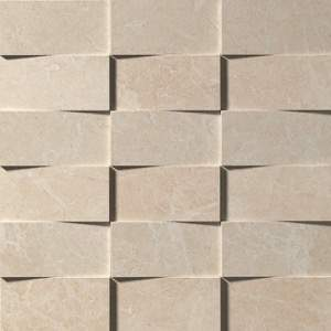 Supernatural Crema 3D Mosaico 30.5x30.5