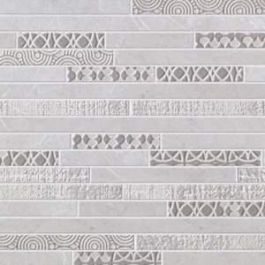 Supernatural Frammenti Argento Mosaico 30.5x30.5