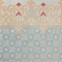 Base Maiolica Bordo Inserto 75x75 RT