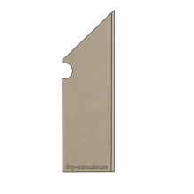 Base Sabbia Battiscopa Sagomato DX 7.2x30