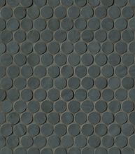 Brooklyn Carbon Round Mosaico 29.5x32.5