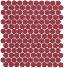 Color Now Marsala Round Mosaico 29.5x32.5