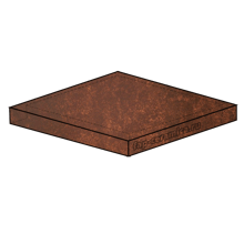 Evoque Copper Scalino Angolare 33x33