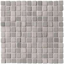 Nord Smoke Solid Color Mosaico Matt 30x30