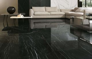 Roma Diamond 60 Nero Reale Brillante 60x60