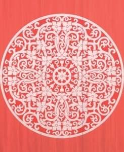 Cielo Gong Papavero Inserto Mix 6 112x91.5 RT