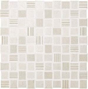 Desert Check White Mosaico 30.5x30.5
