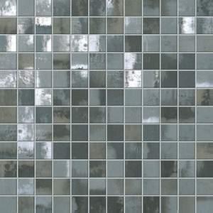 Evoque Acciaio Silver Mosaico 30.5x30.5