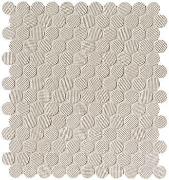 Milano Wall Beige Round Mosaico 29,5x32,5