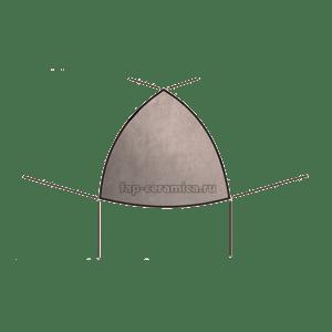 Creta Perla A.E. Spigolo 1x1