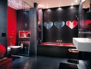 Cupido Cuore Rosso Mosaico 40x53.5
