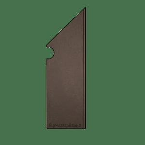 Evoque Earth Battiscopa Sagomato DX 7x29.5