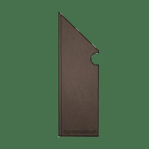 Evoque Earth Battiscopa Sagomato SX 7x29.5