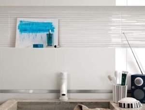 Lumina 75 Line Gloss White 25x75