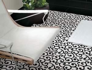 Fap Suite Chic Bianco Nero 30.5x30.5