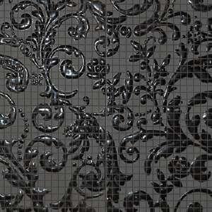 FM Damasco Black Gloss Mosaico 60x60