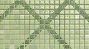 Pop Up Squares Green Inserto 25x45