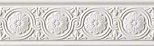 Preziosa Festone Bianco Listello 8x25