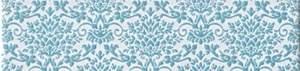 Splendida Damasco Azzurro Listello 6x25