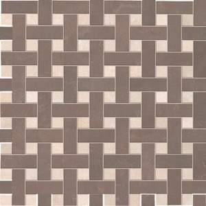 Splendida Intreccio Beige Marrone Mosaico 30.5x30.5