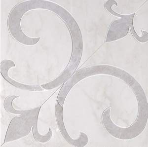 Supernatural Giglio Cristallo 59x59 RT Brillante Inserto