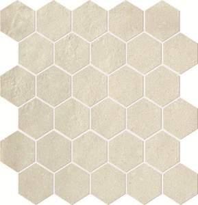 Terra Avorio Esagono Mosaico 30x30