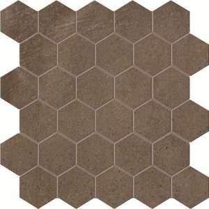 Terra Caffe Esagono Mosaico 30x30