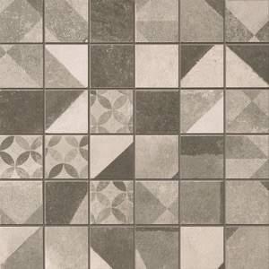 Terra Deco Grey Macromosaico 30x30