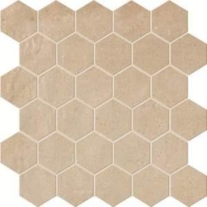 Terra Siena Esagono Mosaico 30x30